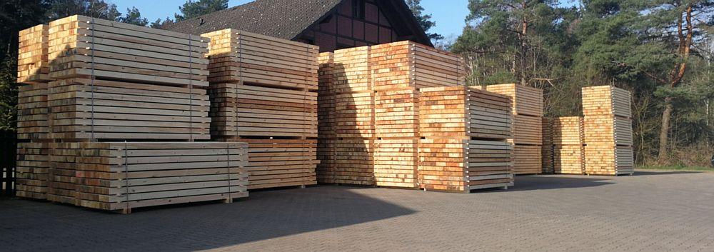 Kantholz für Palettenindustrie
